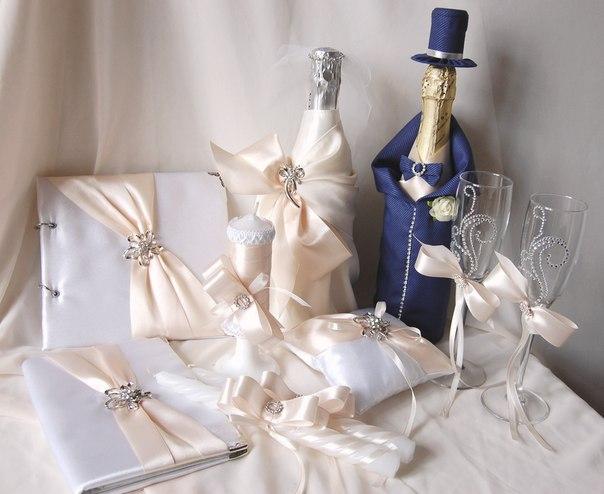 Аксессуары своими руками для свадьбы
